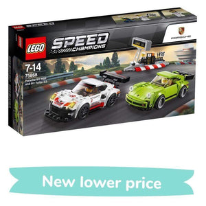 LEGO TOY LEGO Porsche 911 RSR and 911 Turbo 3.0 (391 Pieces)