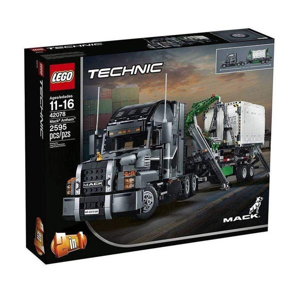 LEGO Toy LEGO Technic 2-in-1 Mack Anthem (2595 Pieces)