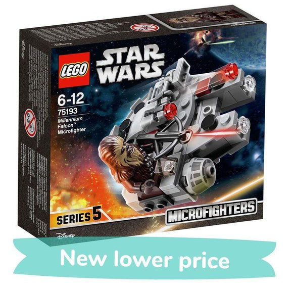 LEGO Toy Star Wars Millennium Falcon Microfighter (92 Pieces, Series 5)