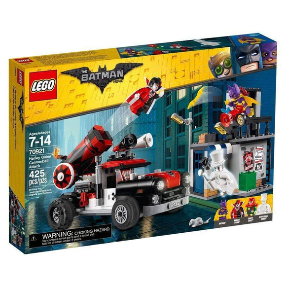 LEGO Toy THE LEGO BATMAN MOVIE Harley Quinn Cannonball Attack (425 Pieces)