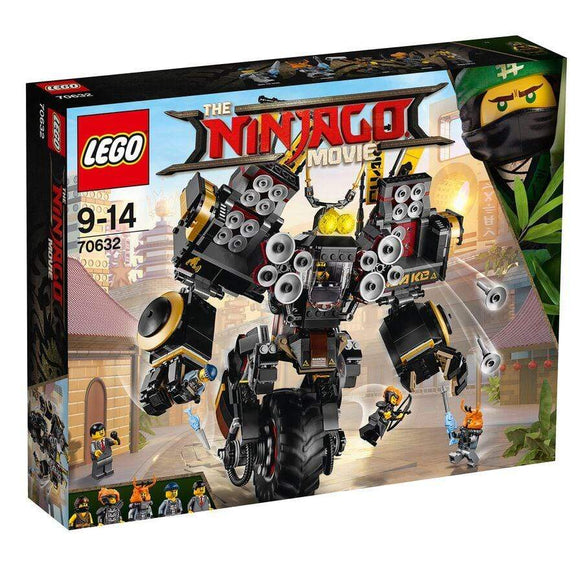 LEGO Toy THE LEGO NINJAGO MOVIE Quake Mech (1202 pieces)