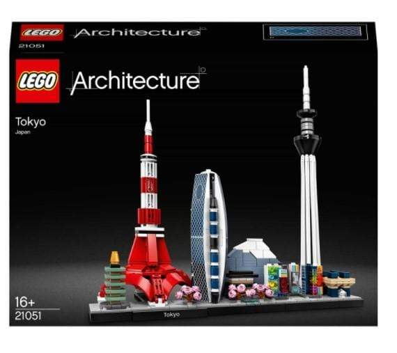 LEGO Toys LEGO Architecture Tokyo Model Skyline Collection (547 Pieces)