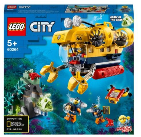 LEGO Toys LEGO City Ocean Exploration Submarine (286 Pieces)