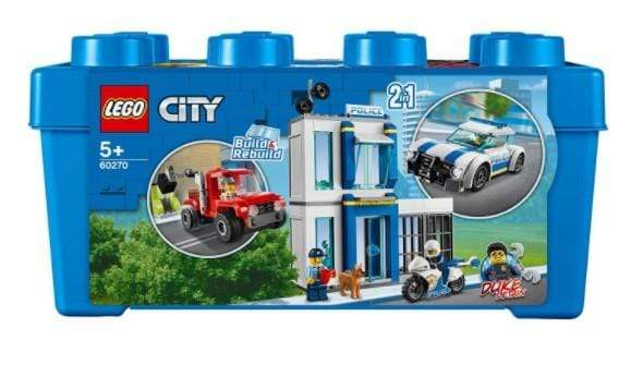 Lego Toys LEGO City Police Blue Brick Box 2in1 Building Set (301 Pieces)