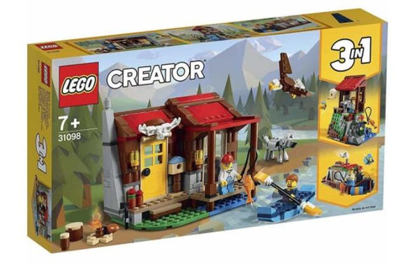 LEGO Toys LEGO Creator 3-in-1 Outback Cabin (305 Pieces)