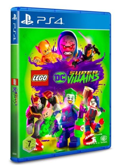 LEGO Toys LEGO DC Super-Villains Video Game for PS4
