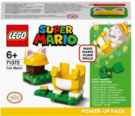 LEGO Toys LEGO Super Mario Cat Mario Power-Up Pack (11 Pieces)