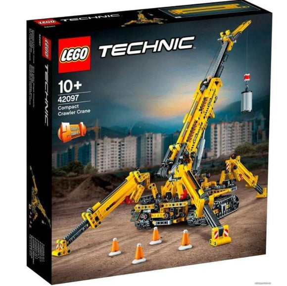 LEGO Toys LEGO Technic 2-in-1 Compact Crawler Crane (920 Pieces)