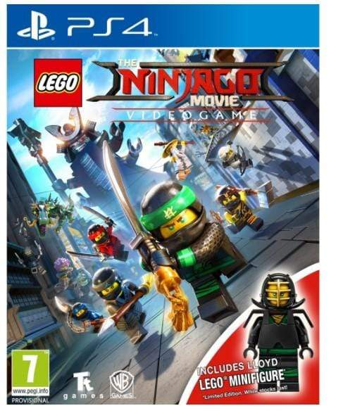 LEGO Toys LEGO The Ninjago Movie Video Game Toy Edition for PS4
