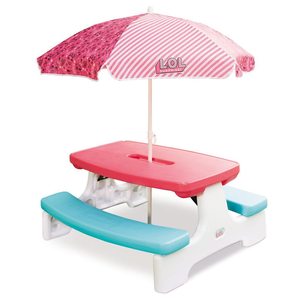 Little Tikes Toys LITTLE TIKES L.O.L SURPRISE! BIRTHDAY PARTY TABLE WITH UMBRELLA