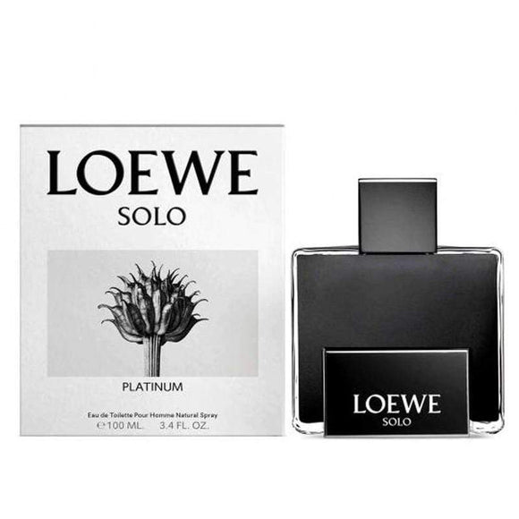 Loewe Perfumes Loewe Solo Platinum Pour Homme Edt 100ml