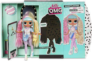 LOL Toys L.O.L. Surprise! O.M.G. Candylicious Fashion Doll With 20 Surprises