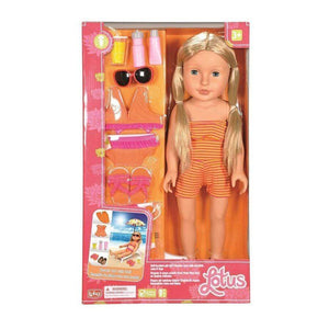 Lotus toys Lotus Beach Set with Doll