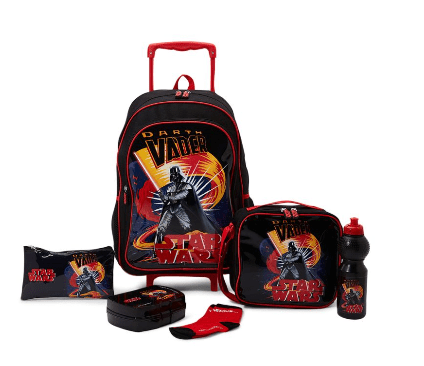 LUCAS 6 Piece Starwars Trolley Bag Set