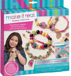 Make it Real Toys Decoupage-a-Bead Jewellery
