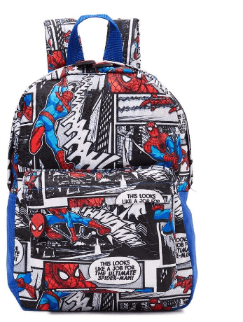 MARVEL Back to School Comic Print Backpack