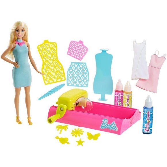 Mattel toys Barbie Crayola Color Magic Station