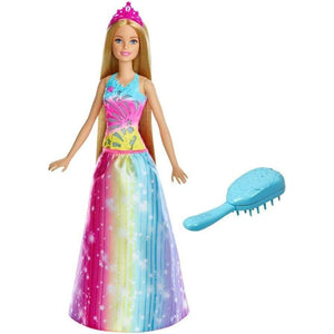 Mattel toys Barbie Dreamtopia Brush 'n Sparkle Princess