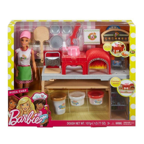 Mattel toys Barbie Pizza Chef Doll and Playset