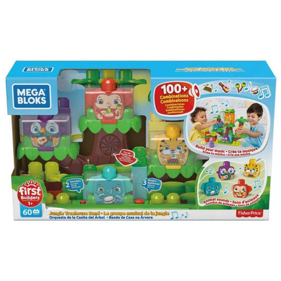Mega Bloks Toys MEGA BLOKS JUNGLE TREEHOUSE BAND