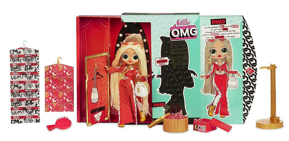 MGA Entertainment Toys L.O.L. Surprise! O.M.G. Swag Fashion Doll with 20 Surprises, Multi-Colour