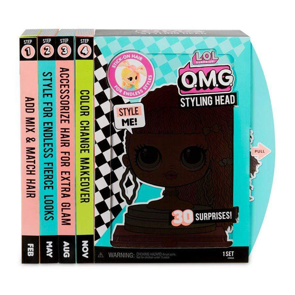 MGA Entertainment Toys L.O.L. Surprise OMG Styling Head-Neon