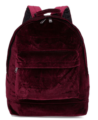 Mi-Pac Back to School Velvet Backpack