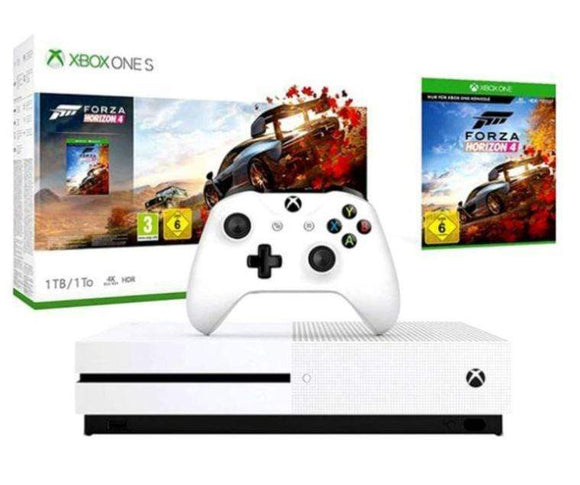 Microsoft Gaming Console Xbox One S 1TB Console With Forza Horizon 4 DLC Code