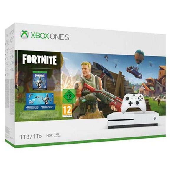 Microsoft Gaming Console Xbox One S 1TB Fortnite Bundle