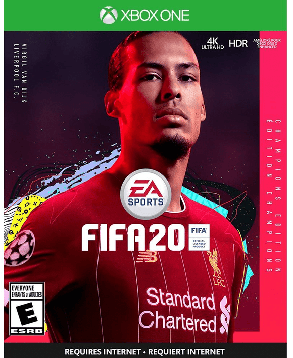 Microsoft Gaming Fifa 20 Champions Edition for XBox One Arabic & English