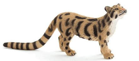 Mojo Toys Clouded Leopard New Colour 2017
