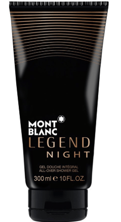 Mont Blanc Perfumes Mont Blanc Legend Night (M) Shower Gel 300Ml