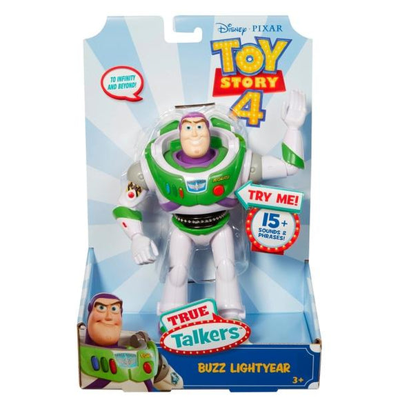 MOVIE MERCHANDISE TOY STORY 4 Toys DISNEY TOY STORY 4 MOVIE - 7'' TALKING BUZZ FIGURE