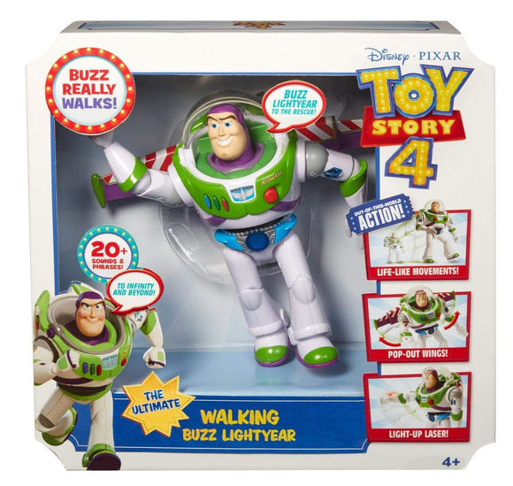 MOVIE MERCHANDISE TOY STORY 4 Toys DISNEY TOY STORY 4 MOVIE LINE - 7''  ACTION MOVES BUZZ