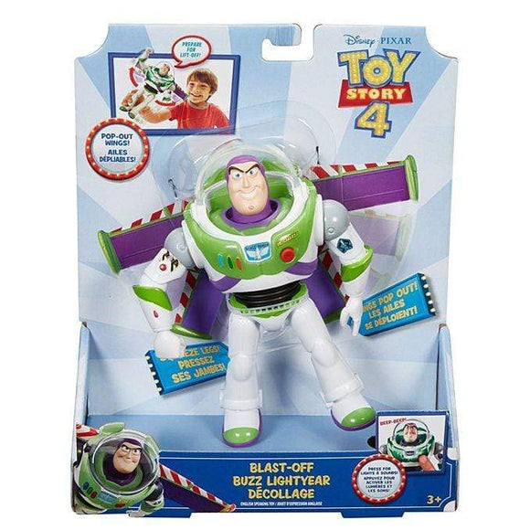 MOVIE MERCHANDISE TOY STORY 4 Toys DISNEY TOY STORY 4 MOVIE LINE - 7'' BLAST OFF BUZZ