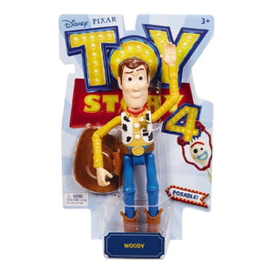MOVIE MERCHANDISE TOY STORY 4 Toys DISNEY TOY STORY 4 MOVIE LINE - 7'' WOODY BASIC FIGURE