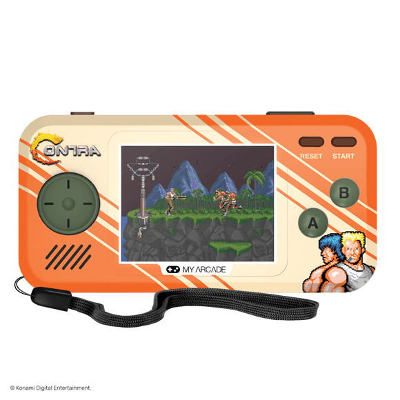 My Arcade Gaming CONTRA POCKET PLAYER (PREMIUM EDITION)