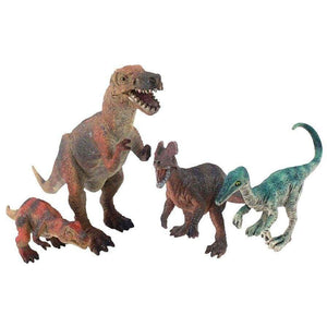 National Geographic toys Nat Geo 4-Piece Dinosaur Play Set with Giganotosaurus