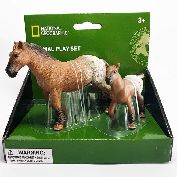 National Geographic Toys Nat Geo Forest Animals Play Set Horse