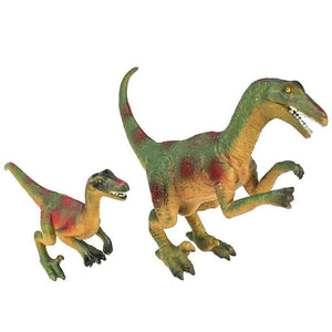 National Geographic toys Nat Geo Velociraptor Dinosaur Play Set (2 Pieces)