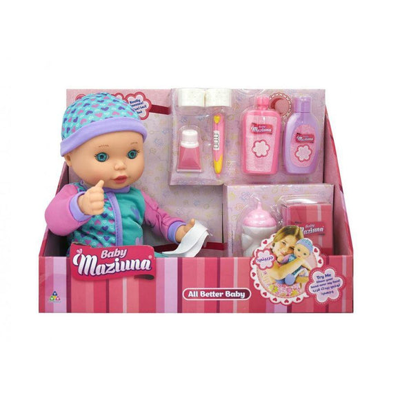 New Adventure toys All Better Baby Doll with Accessories (24 cm)