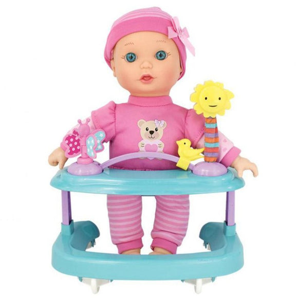 New Adventure toys Playcenter Baby Doll (7 Pieces)