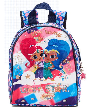 Nicklodeon Back to School Shimer Print Backpack