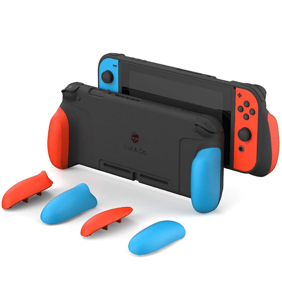 Nintendo Gaming Accessories Nintendo Switch Grip Case - Neon Blue & Red
