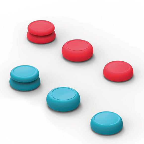 Nintendo Gaming Accessories Nintendo Switch Joy-Con Thumb Grip Set - Red & Blue