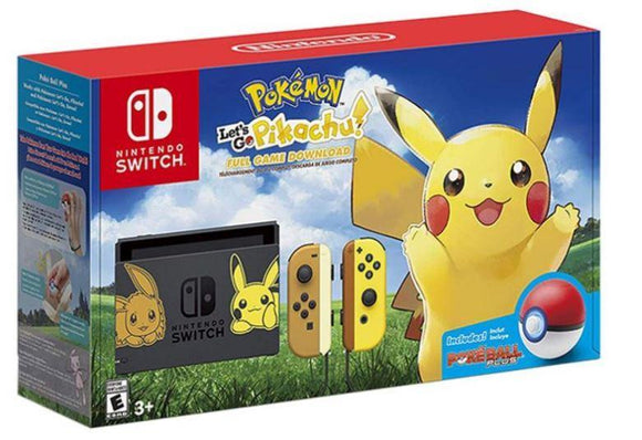 Nintendo Gaming Console Nintendo Nintendo Switch Pokemon Pikachu With Poke Ball