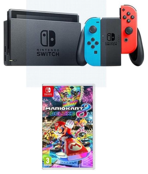 Nintendo Gaming Console Nintendo Switch 32GB Console with Mario Kart Deluxe