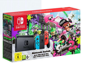 Nintendo Gaming Console Nintendo Switch Console Set With Splatoon 2-Limited Edition