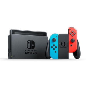 Nintendo Gaming Console Nintendo Switch Console with Neon Red & Blue Joy-Con