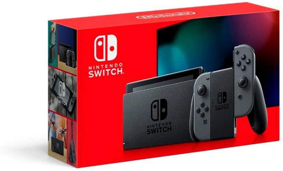 Nintendo Gaming Nintendo Switch 32GB Console Grey Extended Battery